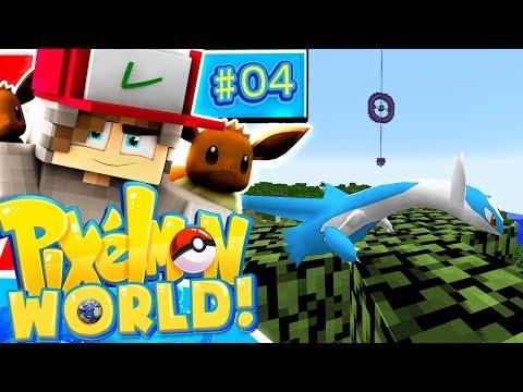 Three Legendary Pokemon?! - Pixelmon World - Ep.4 (LIVE STREAM)