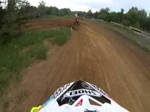 STAUNTON MX track Indiana motocross gopro lap Honda CRF150R
