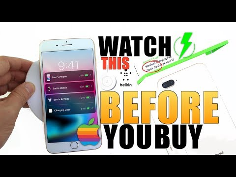 New iPhone 8 Wireless Charger | Watch This Before You Buy