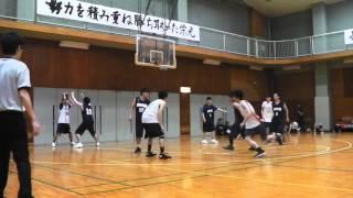 バスケット 【後半】 坊っちゃん。 vs 丸文籠球部