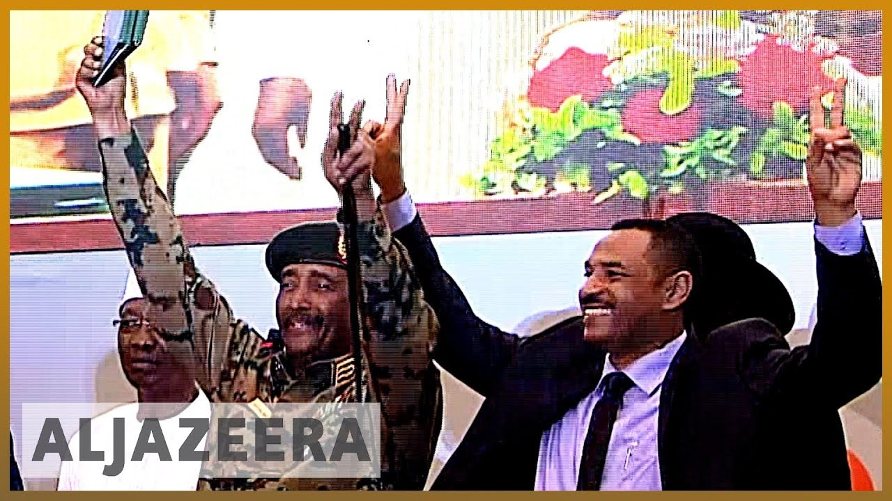 AlJazeera English:Sudan protest leaders, military sign transitional government deal