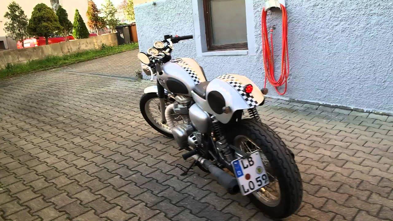 Lores Barbara Cafe Racer Soundcheck Kawasaki W800