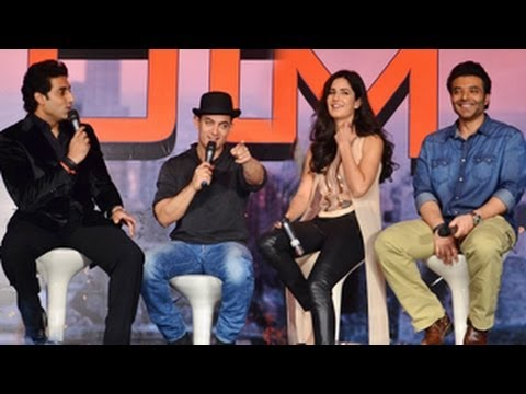 Dhoom 3 Press Conference- Aamir, Katrina, Abhishek & Uday Chopra