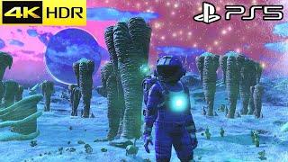 No Man's Sky PS5 - 4K HDR 60FPS Gameplay (PS5 Version)