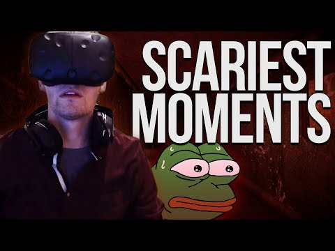 Chance Gets Jump Scared Repeatedly in Virtual Reality
