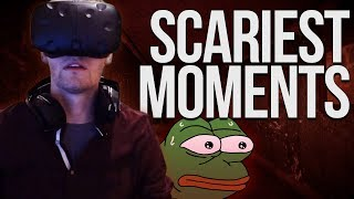 Chance Gets Jump Scared Repeatedly in Virtual Reality thumbnail