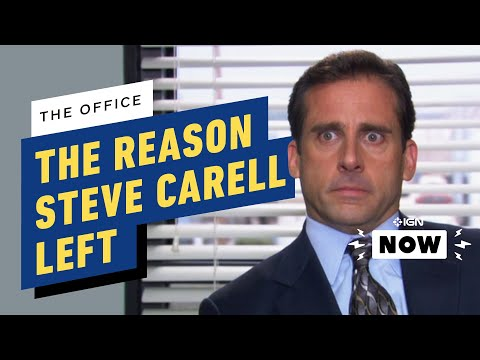 The Office: Surprising Reason Behind Steve Carell's Exit Revealed - IGN Now