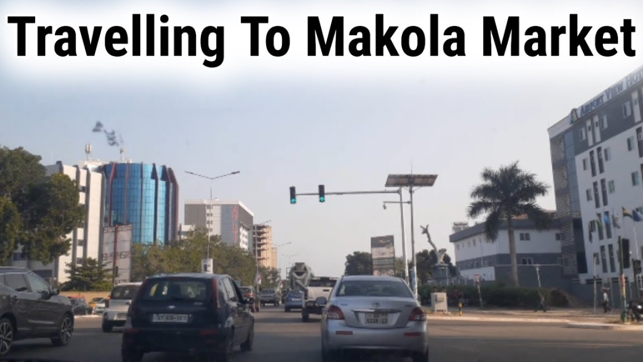 Repeat Ghana Vlog 2019: Driving To Makola Market Accra by K