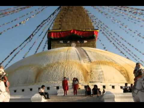 Exquisite clip: The magnificient Boudhanath temple