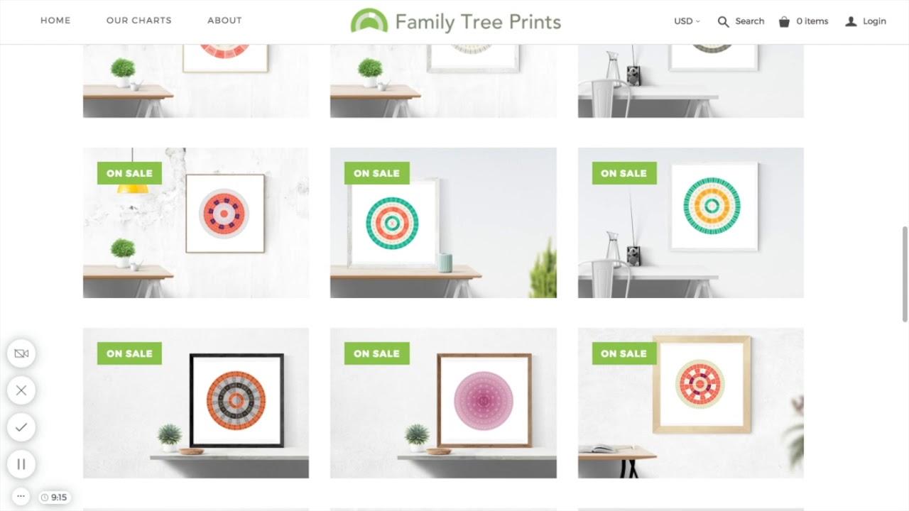 family tree maker charts