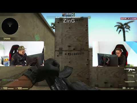 ZinG vs Nil на CS:GO // Първа игра от GplayTV за Св. Валентин