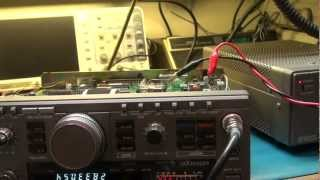 """KENWOOD TS-140S REPAIR """"OFF FREQUENCY"""""""
