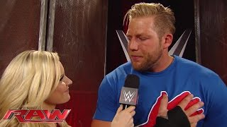 Jack Swagger comments on his SummerSlam defeat: Raw, Aug. 18, 2014