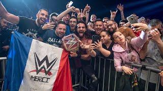 Reigns, Rollins & Strowman make memories in Marseille