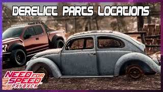 Hunt for Shift Lock derelict car Volkswagen Beetle 1963 - Need for Speed Payback (PS4)