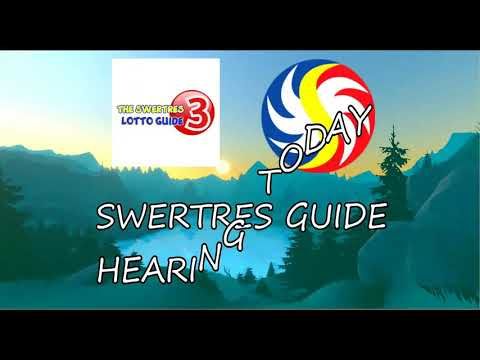 Repeat SWERTRES HEARING TODAY   JULY 17 2019 by The Swertres Lotto