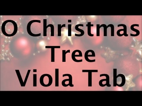 Learn O Christmas Tree on Viola - How to Play Tutorial