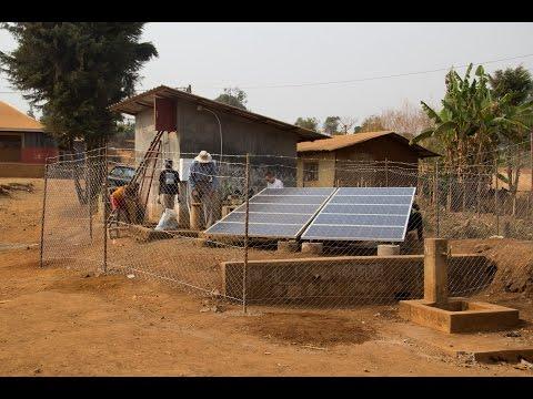 EWB-USA Georgia Tech Mungoa-goa Cameroon Solar Water Pumping Project Time Lapse