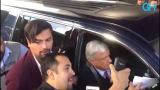 Llega AMLO a Tijuana para hablar de la Zona Libre