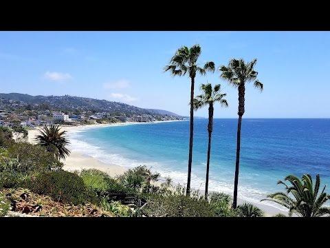 California - Orange County, Capo Beach, Laguna Beach, 1000 Steps Beach - Samsung S8 HD
