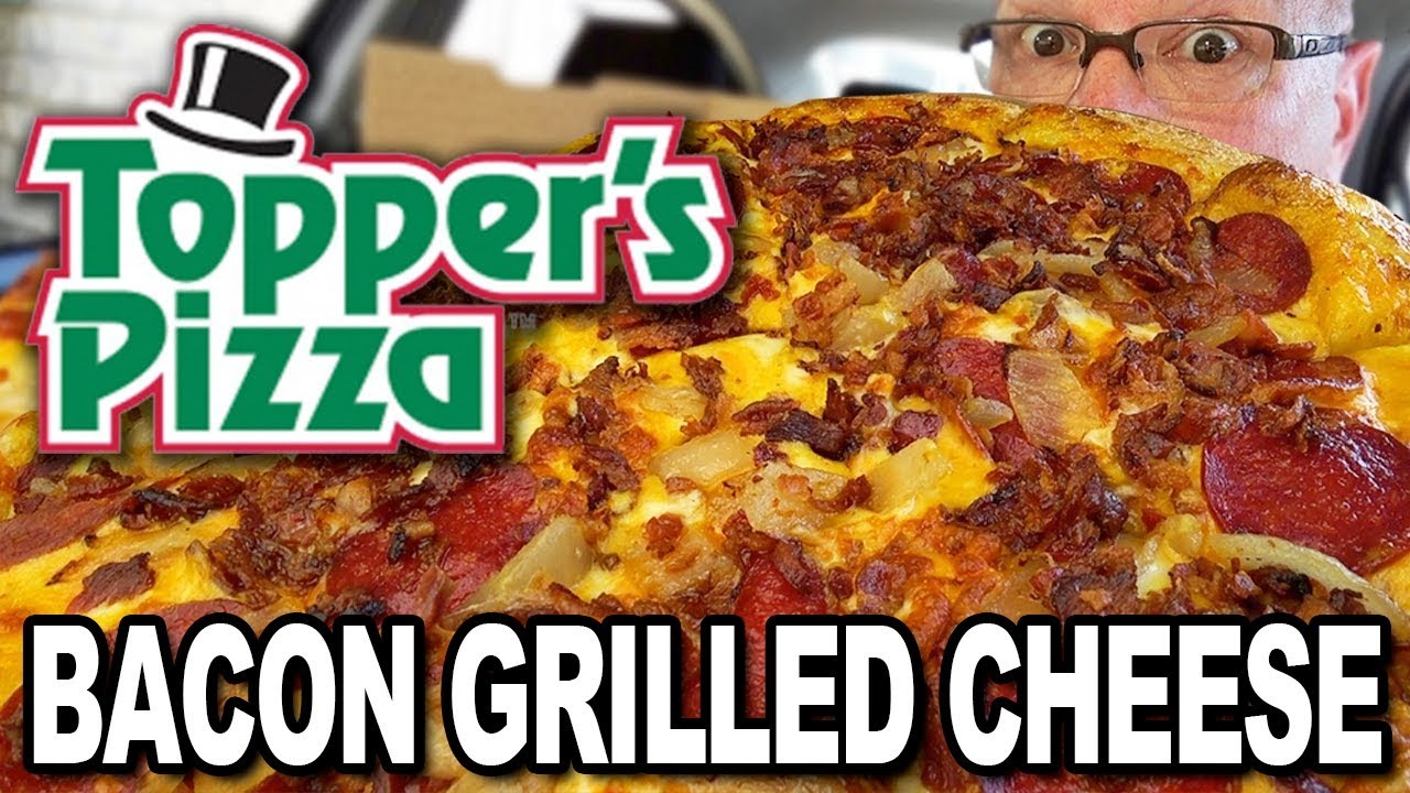 Topper's Pizza ???????????? BACON GRILLED CHEESE PIZZA