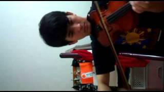 Ugoy ng Duyan - Violin Cover Thumbnail