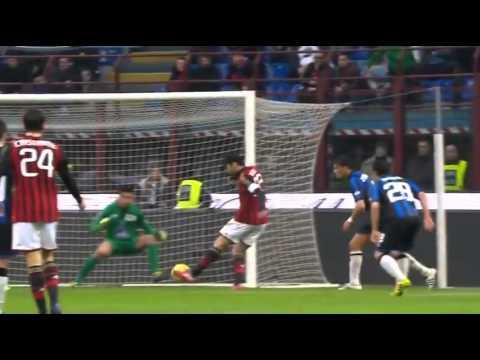 Kaka Second Goal   AC Milan vs Atalanta 2:0 Serie A 2014 HD