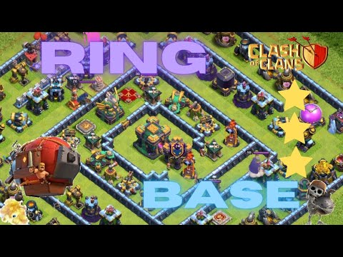 How to 3 star ring base - DRAG strategy attack TH14 / Clash of Clans