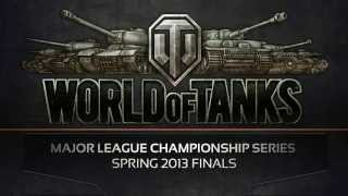 WoT Major League Championship Series Spring 2013 Finals