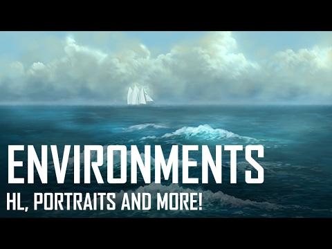 Critique Hour! Environment, Horizon Line, Portraits and more!