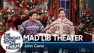Jimmy and John Cena perform a dramatic holiday scene they've written together using Mad Lib words. Subscribe NOW to The Tonight Show Starring Jimmy ...