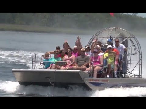 CrazyFish Airboat - Tour