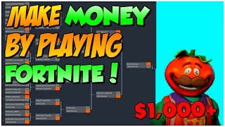 How To Make MONEY in Fortnite TOURNAMENTS | Best Way! ($1,000+ Per Day)