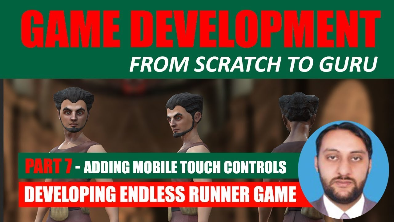 Part 07 - Adding Mobile Touch Controls - Joystick | Game Development From Scratch To Guru