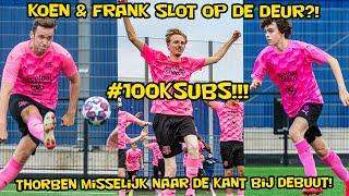 Koen & Frank slot op de deur?! Thorben misselijk naar de kant bij debuut en #100ksubs!!