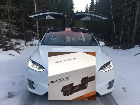 How to install Blackvue DR650s-2ch in Tesla Model X AP2