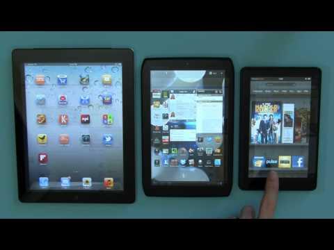 New Apple iPad (Verizon) comparison with iPad 2, Android tablets