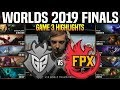 G2 Vs FPX Game 3 Highlights Worlds 2019 FINALS - G2 Esports Vs FunPlus Phoenix Game 3 Highlights
