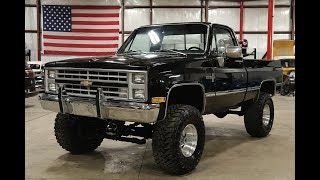 1986 Chevy K10 1500 4x4 Black