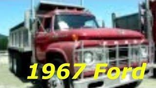 1967 Ford Dump Truck   Antique Truck Show Duncan BC 2012