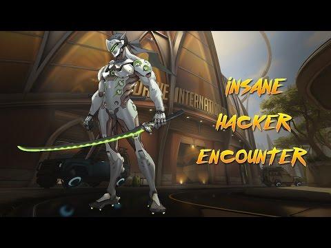 (OVERWATCH) INSANE HACKER ENCOUNTER!!