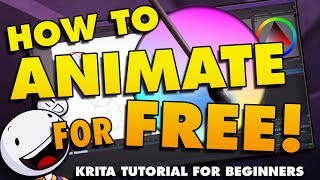How To Animate In Krita For Beginners - Free Animation Software