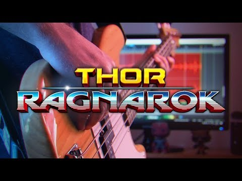 Thor: Ragnarok Theme on Guitar
