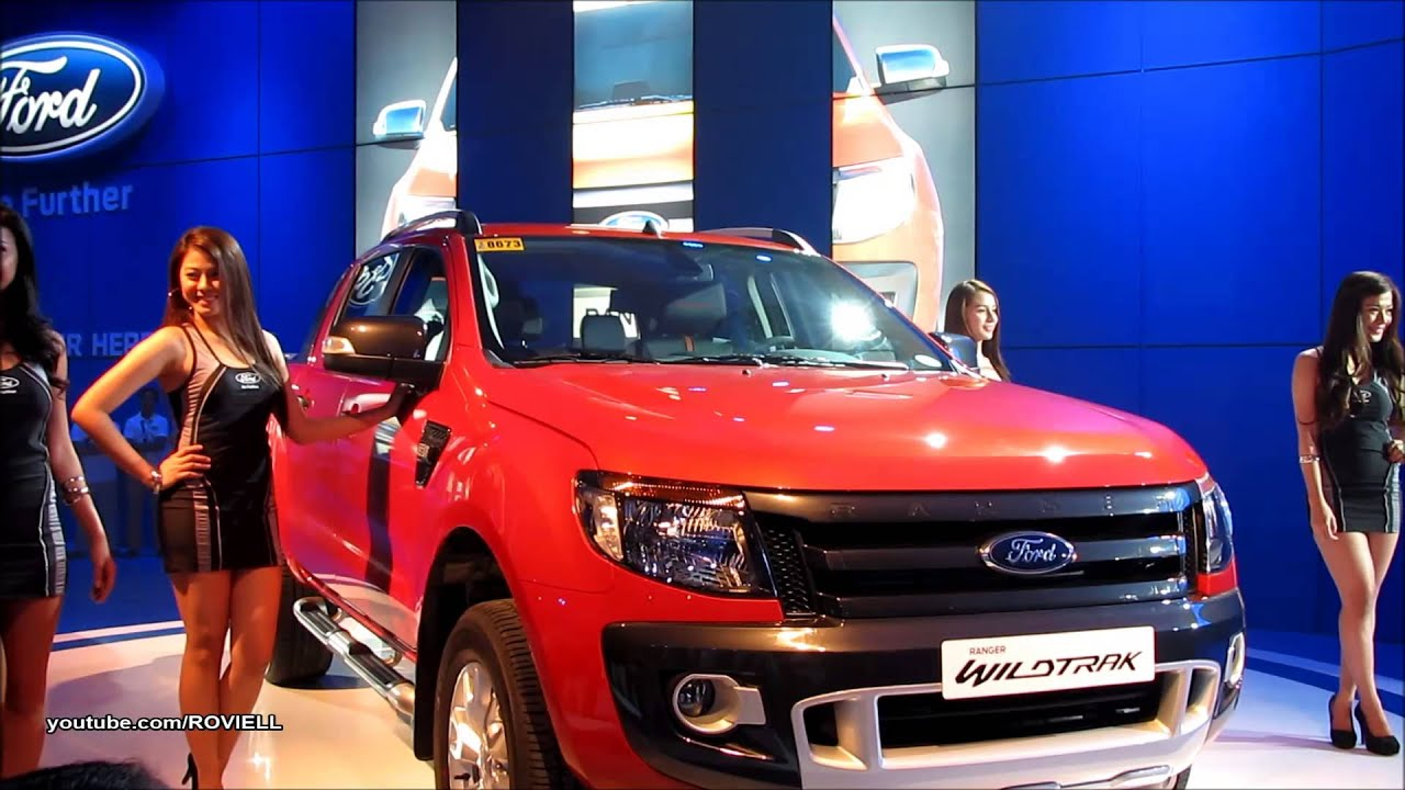 Ford at MIAS 2013  Ford Ranger Wildtrack  Manila International