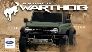 2022 Ford Bronco Warthog: NEW LEAKS (Everything We Know)