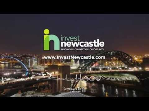 Invest Newcastle tech showreel