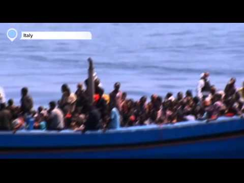 Migration Crisis: EU discusses setting up naval mission in Mediterranean to go after smugglers