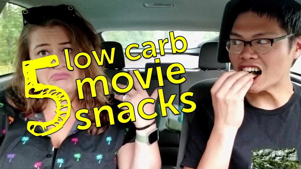 5 Low Carb Movie Snacks