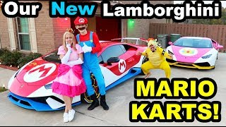 MARIO KART IN REAL LIFE!! *NEW CAR WRAP REVEAL*