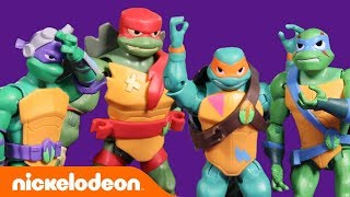 Rise of the TMNT Toys Trying Out Freeze & Parkour Challenges & More! 🐢 | #TurtlesTuesday
